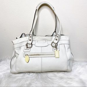 Coach Penelope White Leather Purse